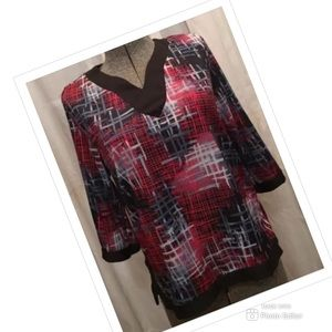 WOMENS ANTHONY RICHARDS PETITE BLOUSE TOP SHIRT